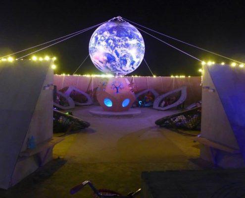 Pachamama Portal Art Installation, Burning Man 2014