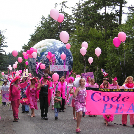 Code Pink For Peace, July 4th