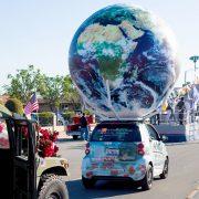 10' Parade Globe in Chinese New Year Celebration
