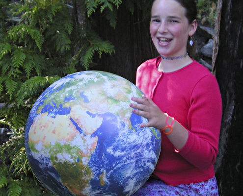 EarthBalls for schools, teachers and homeschoolers